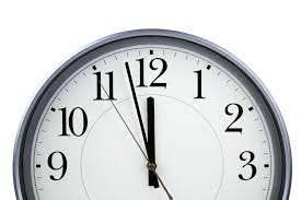 Clock at almost 12:00